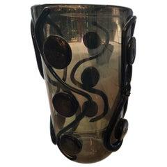 "Vase in Murano Glass Signed ""Costantini Murano"""