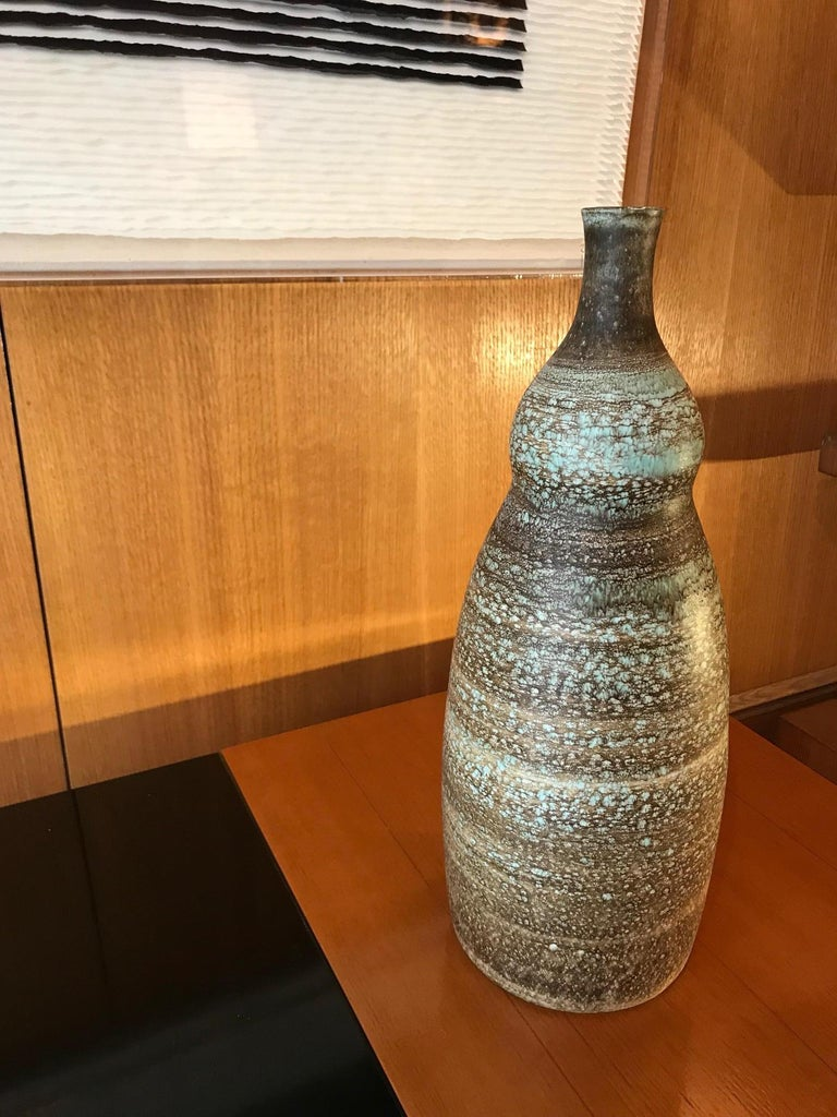 Vase / Lamp by Ceramic Artists Les 2 Potiers In Good Condition For Sale In Paris, FR