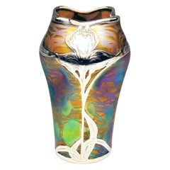 Vase Loetz Bohemia Art Nouveau Decor Phaenomen Genre 2-474 Made circa 1902