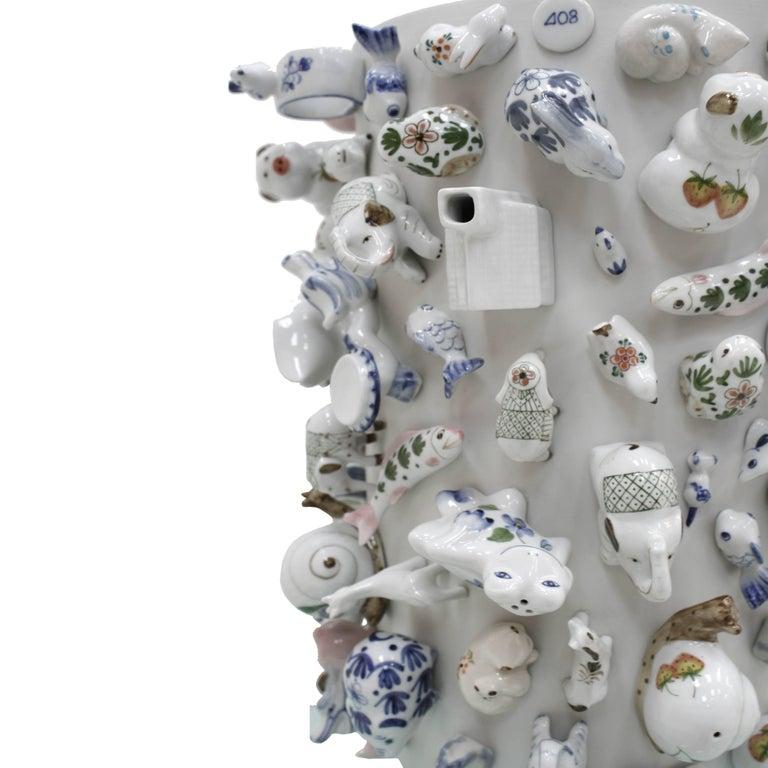 Porcelain Vase Mod.