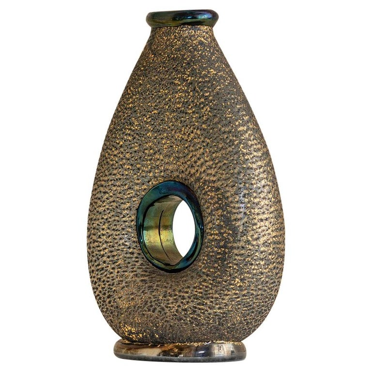 """Vase of the """"barbarici"""" Series by Barovier & Toso, Italy, 1950 For Sale"""