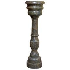 Vase on Column, Marble, 20th Century