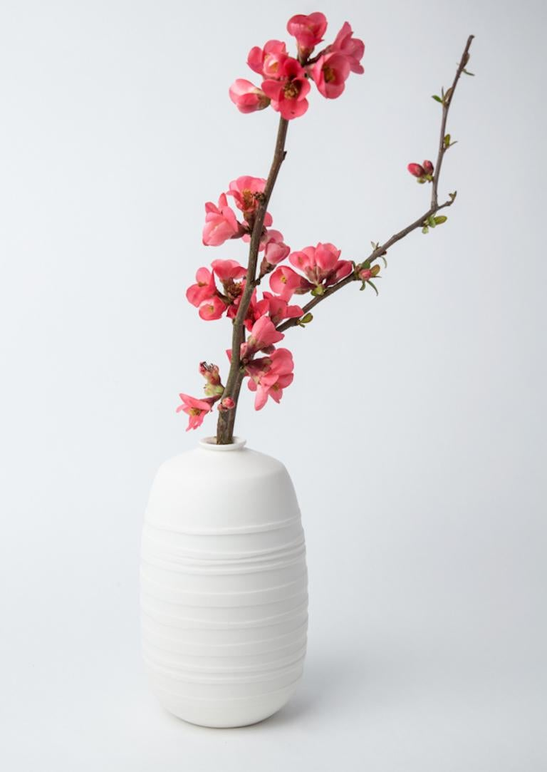 French Vase Soliflore Ecaille, Set For Sale