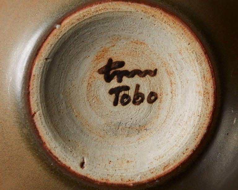 Vase 'Tobo' Designed by Erich and Ingrid Triller, Sweden, 1940s In Excellent Condition For Sale In Stockholm, SE