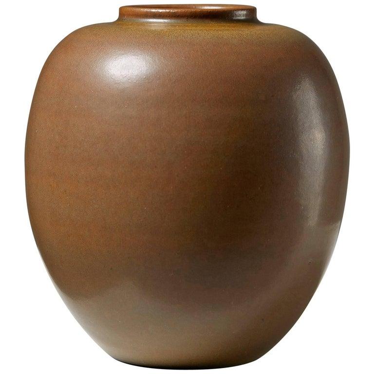 Vase 'Tobo' Designed by Erich and Ingrid Triller, Sweden, 1940s For Sale