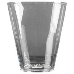Vase Trop Clear, in Glass, Italy