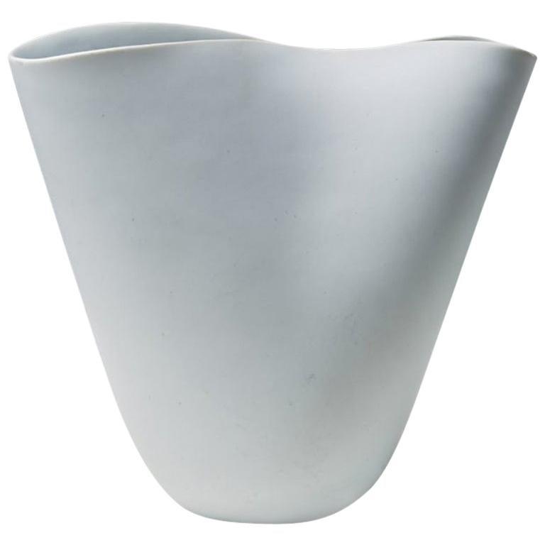 """Vase """"Veckla"""" Designed by Stig Lindberg for Gustavsberg, Sweden, 1940s"""