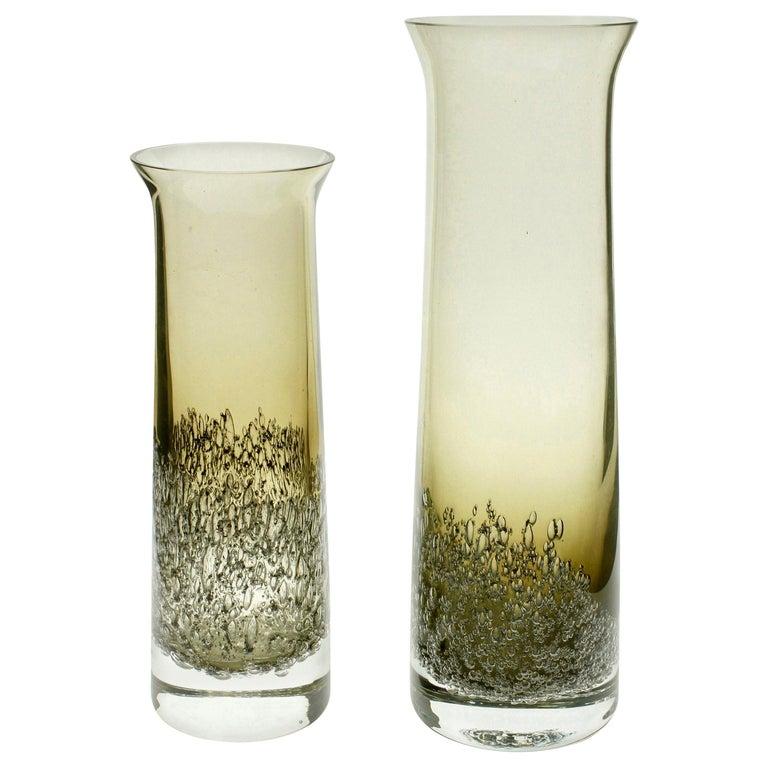 Vases by Heinrich Löffelhardt for Schott Zwiesel, 1950s For Sale