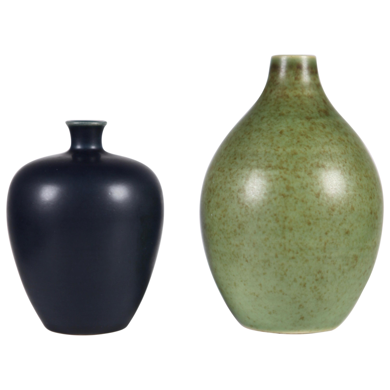 """Vases """"Tobo"""", Designed by Erich and Ingrid Triller, Sweden, 1950s"""