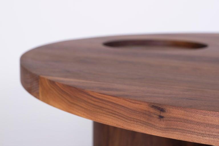 American VASSOIO Contemporary Coffee Table in Solid Wood by Estudio Persona For Sale