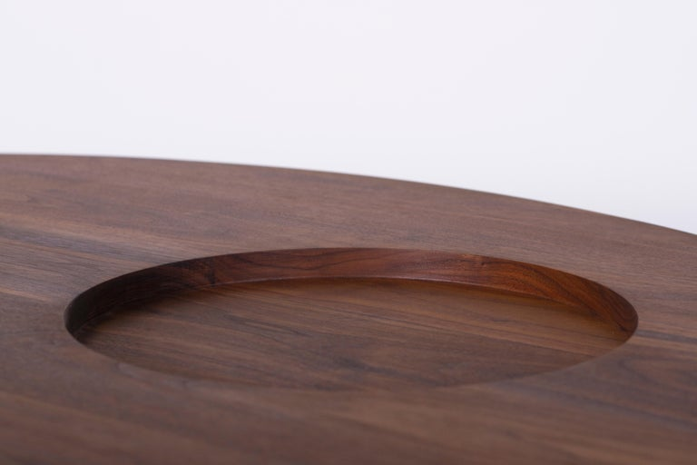Hand-Crafted VASSOIO Contemporary Coffee Table in Solid Wood by Estudio Persona For Sale