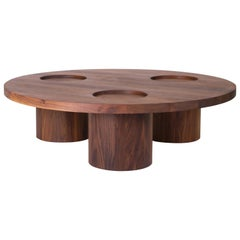 VASSOIO Contemporary Coffee Table in Solid Wood by Estudio Persona