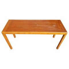 Vejle Stole Teak Danish Modern Console or Sofa Table
