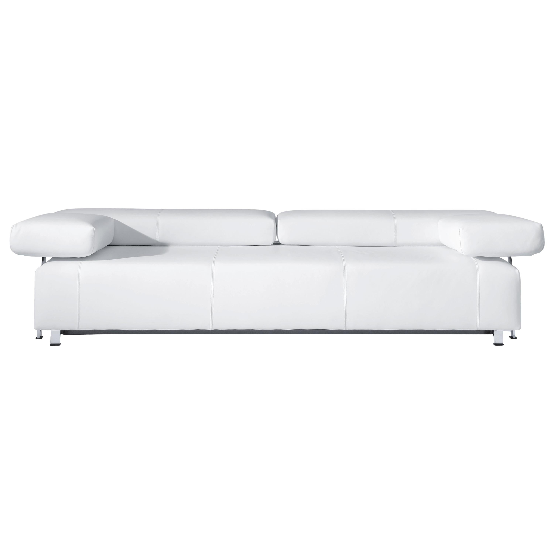 Velas Adjustable Flat Modular Leather Sofa by FSM