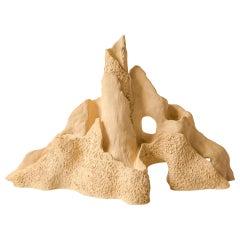"""Veld Clay Candelabra Ceramic """"Three Tiers"""" by Jan Ernst de Wet"""