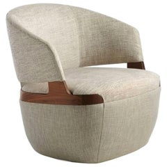 Velis Swivel Armchair by Potocco