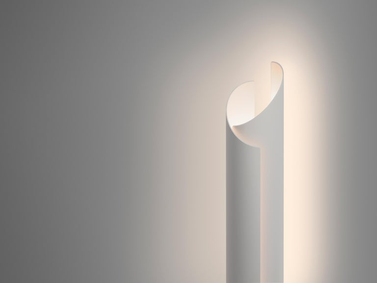 Modern Vella Table Lamp in Grey by Pablo Designs For Sale