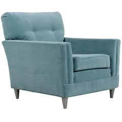 Velvet Club Chair - Harvey Probber Style
