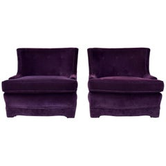 Velvet Club Chairs