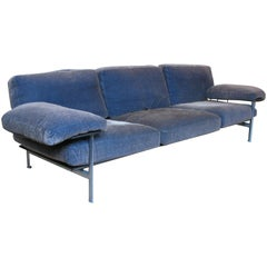 Velvet Diesis Sofa by Antonio Citterio for B&B Italia