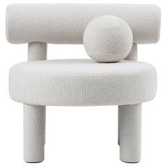 Velvet Gropius Low Chair by NOOM