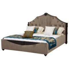 Velvet King Size Bedframe