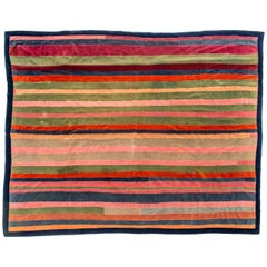 Velvet Patch Vintage Quilt from California