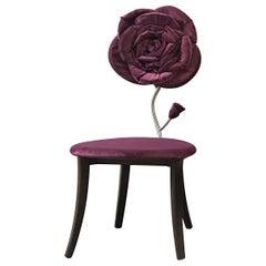Velvet Rose Accent Chair