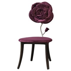 Velvet Rose Accent Chair