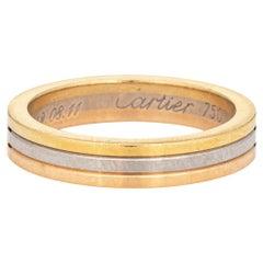 Vendome Louis Cartier Wedding Band 18k Gold Certificate COA