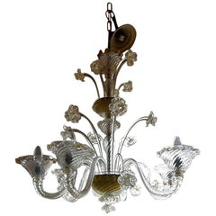 Venetian Antique Chandelier 19th Century