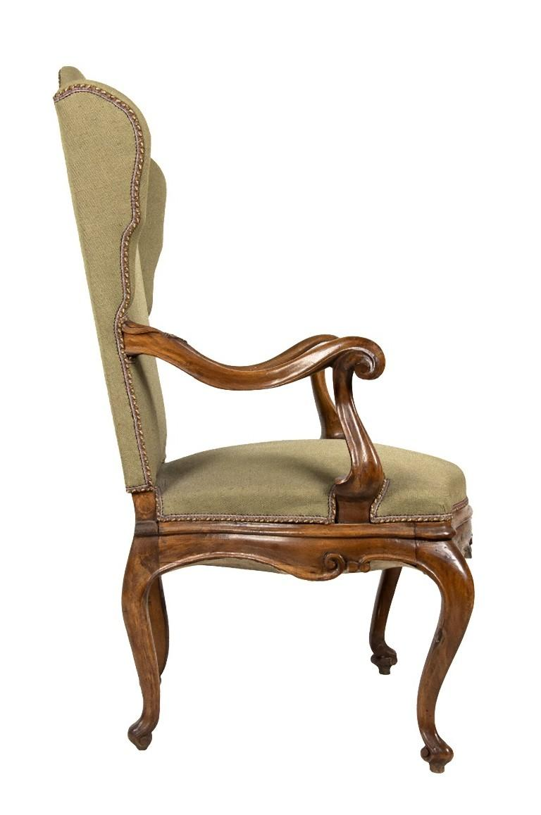 You are admiring a Venetian armchair realized during the 1850s in Venetian style.