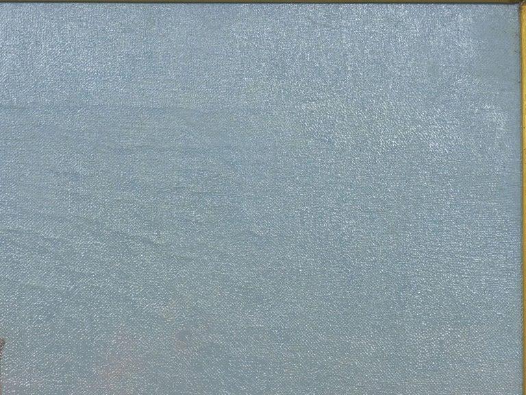 "Romantic ""Venetian Canal"" Antique Oil Painting by Warren Shepherd 'American, 1858-1937' For Sale"