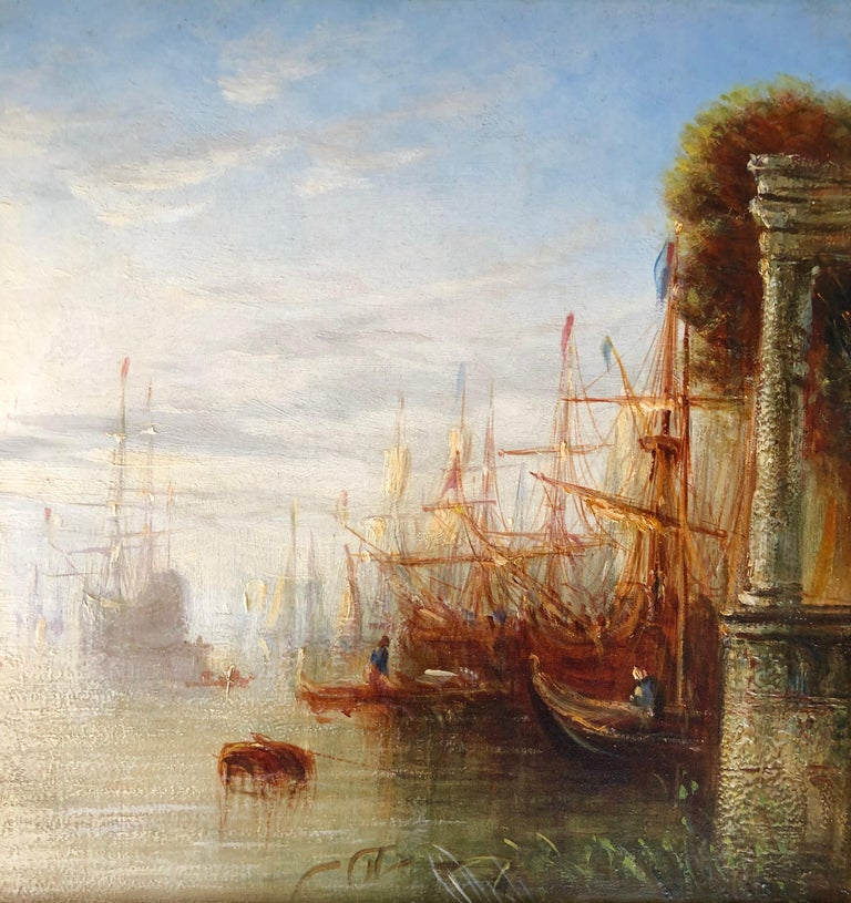 Victorian 'Venetian Canal' by Francis Moltino For Sale
