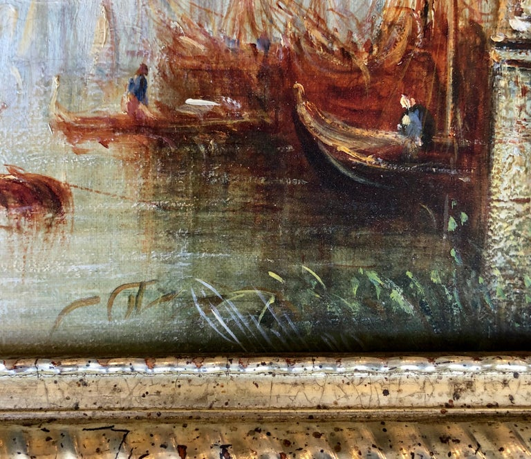 Italian 'Venetian Canal' by Francis Moltino For Sale