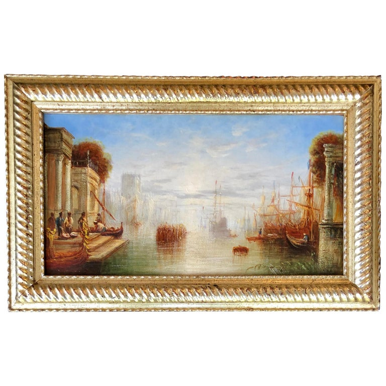 'Venetian Canal' by Francis Moltino For Sale