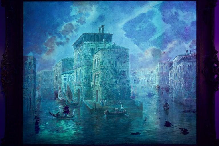 Venetian Capriccio Landscape Painting by James Salt 'English, 1850-1903' For Sale 2