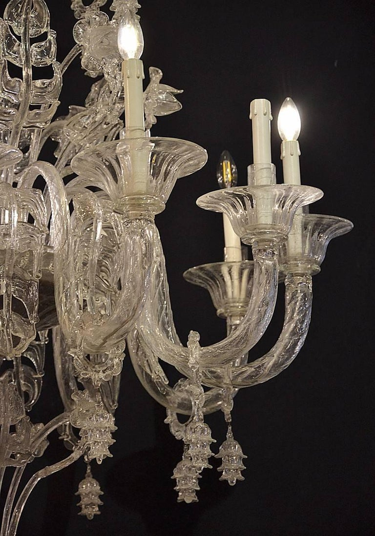 Venetian Chandelier, Pauly, circa 1930 In Good Condition For Sale In Brussels, BE