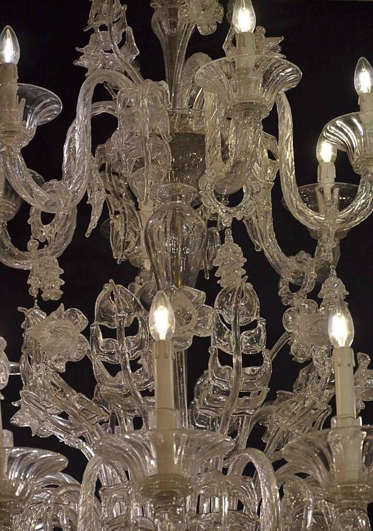 Mid-20th Century Venetian Chandelier, Pauly, circa 1930 For Sale