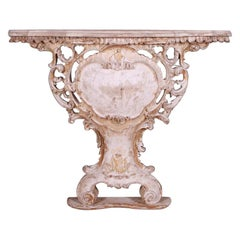 Venetian Console Table