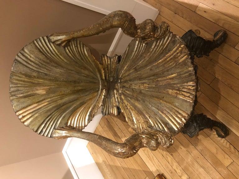 Wood Venetian Grotto Chair