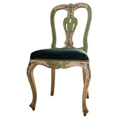 Venetian Hand Painted Chair