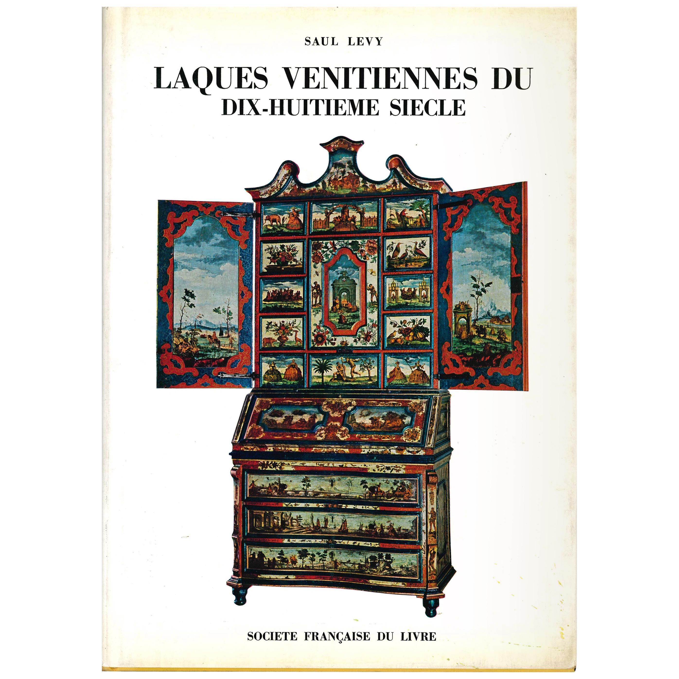 Venetian Lacquers from the 18th Century, Set of 2 Books by Saul Levy