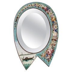 Venetian Micromosaic Mirror, Italy, circa 1890
