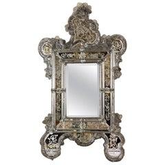 Venetian Mirror in Murano Glass, circa 1880