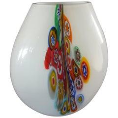 Venetian Multicolored Blown Vase