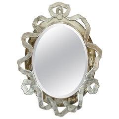 Venetian Multipart Ribbon-Form Mirror