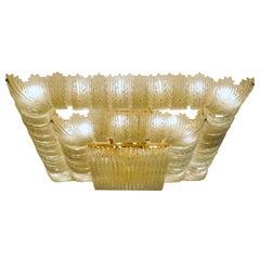 Venetian Murano Glass Ceiling Light