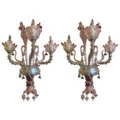 Venetian Pair of Sconces