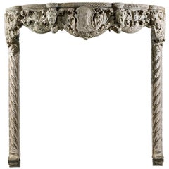 Venetian Renaissance Antique Fireplace from the 15th Century